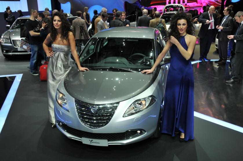 2011 Lancia Ypsilon Geneva