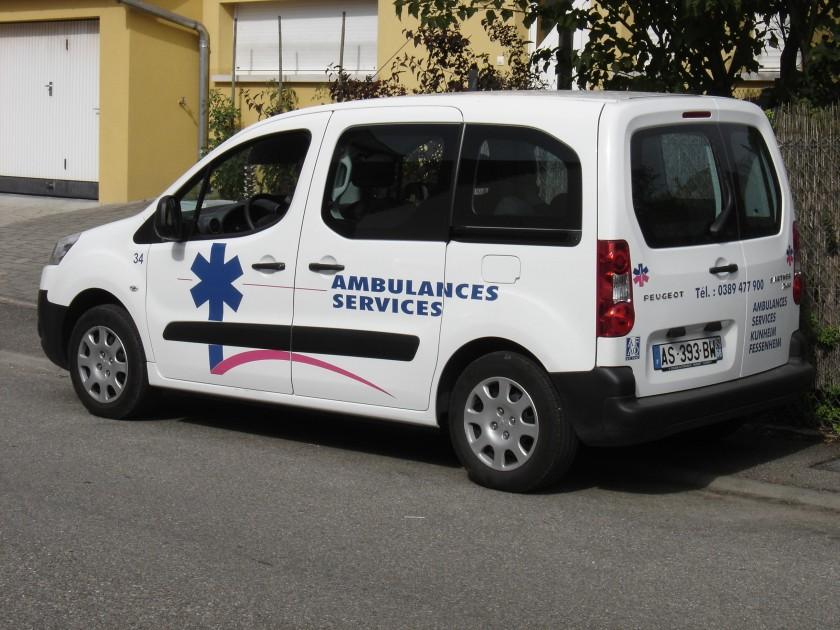 2012 Peugeot Ambulance Service