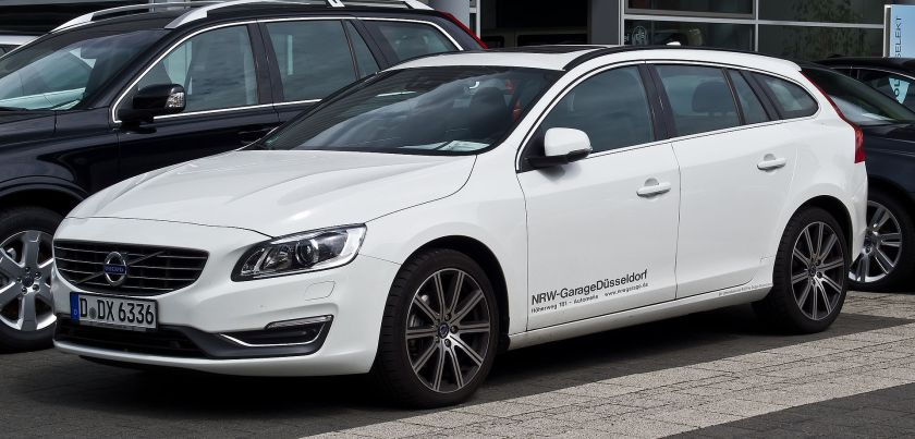 2013 Volvo V60 D5 Summum (Facelift)