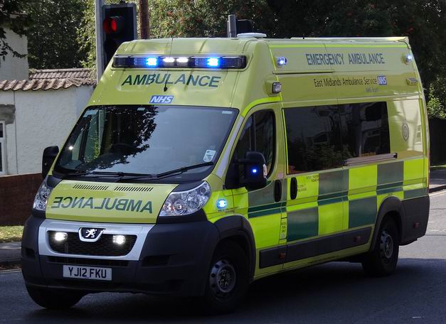 2014 East Midlands Ambulance Service Peugeot Boxer Emergency