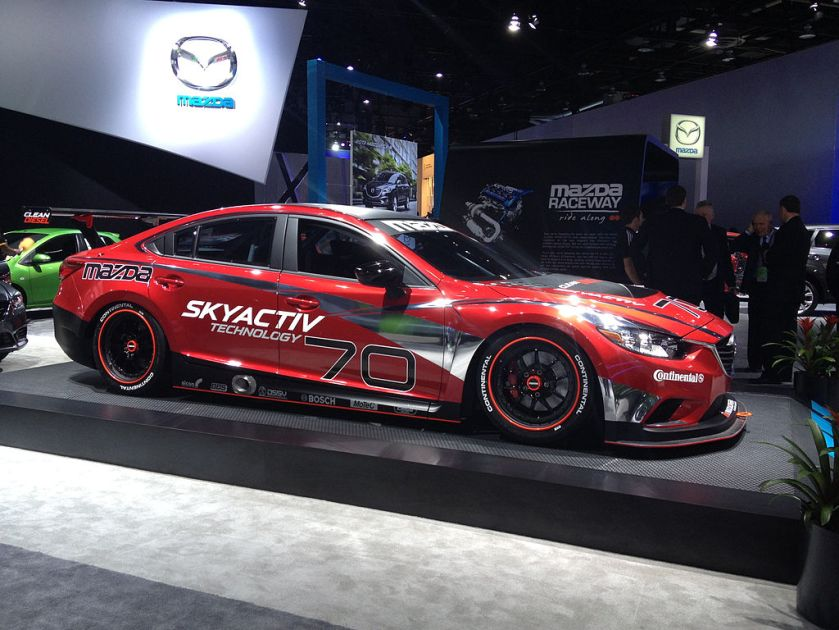 2014 Mazda 6 Skyactiv-D race car (8404430936)