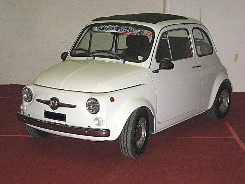 Abarth 595, derived from Fiat 500
