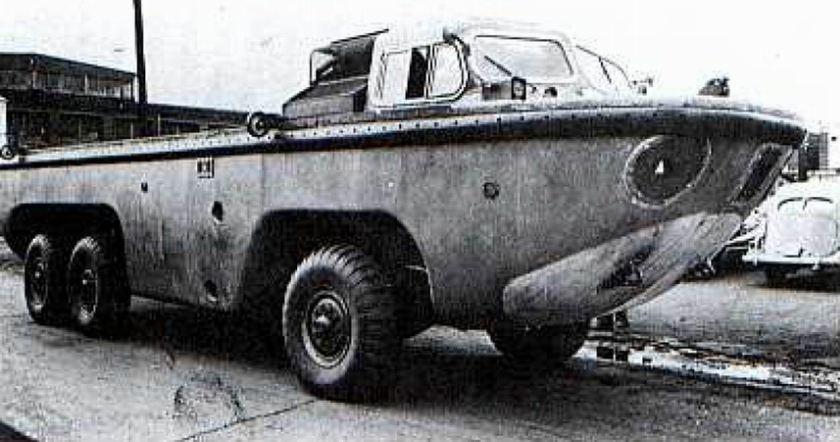ACF XM148 Gull Amphibie
