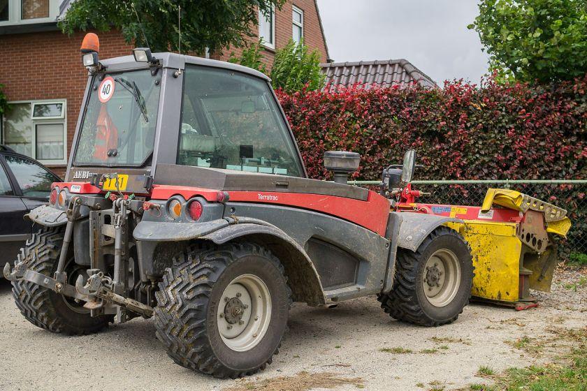 Aebi Terratrac tractor
