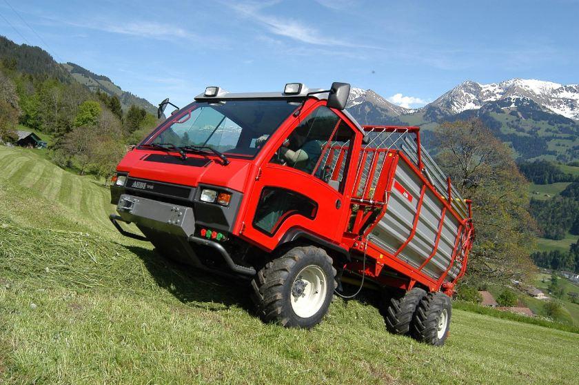 AEBI Transporter Aebi TP48 Ladegeraet