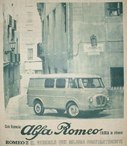Alfa Romeo Fadisa advert
