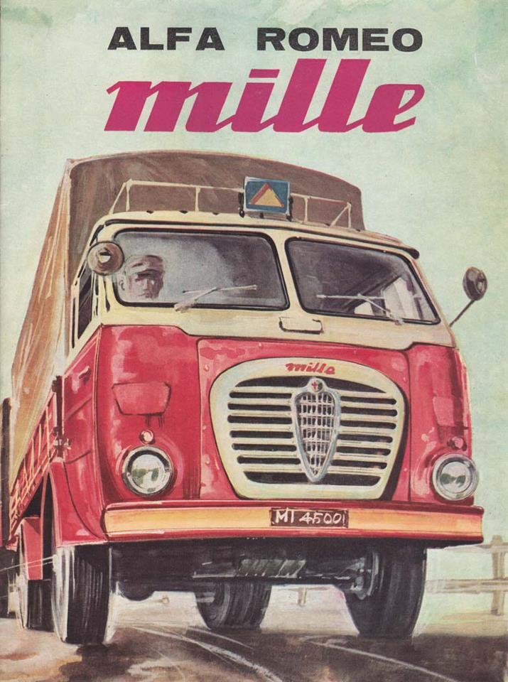 Alfa Romeo Milla Ad