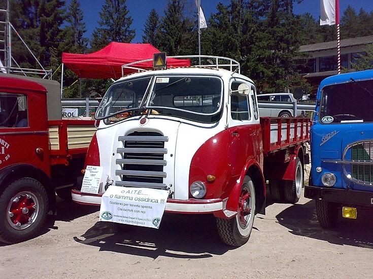 Alfa Romeo Old Timer Truck