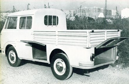 Alfa Romeo Reg Rom 3 double cab truck