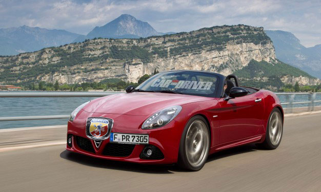 Alfa Romeo Spider goes Abarth
