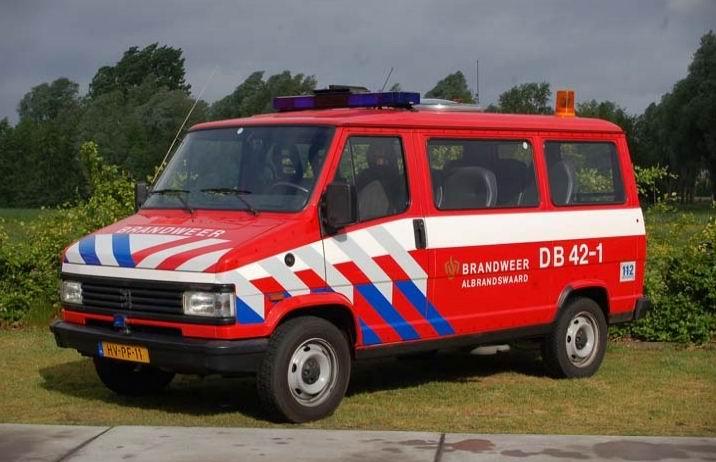 Brandweer Albrandswaard Peugeot