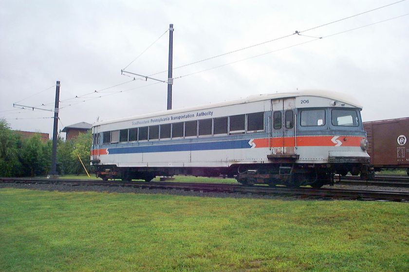 Bullet Philadelphia_&_Western_Railway_206
