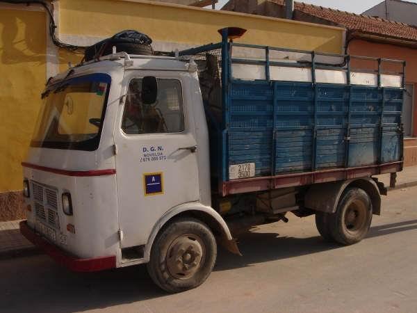 camió Nazar a Novelda (Alacant)