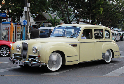 Delahaye limousine used by Crown Prince of Thailand