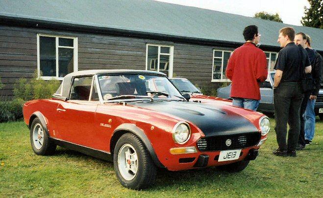 Fiat 124 - Sport Spider Abarth