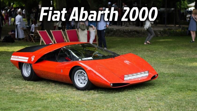 Fiat Abarth 2000