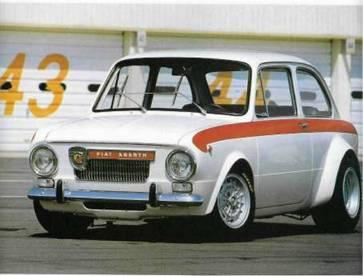 Fiat Abarth 850 a