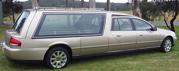 Holden Caprice high roof hearse c