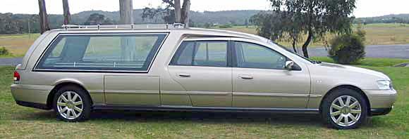 Holden Crewman hearse. Caprice b
