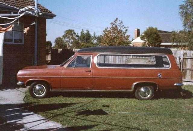 HR Holden HR Hearse
