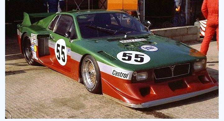 lancia beta montecarlo turbo Silverstone 80