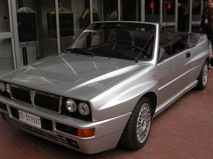 Lancia Curiosa Delta Cabrio
