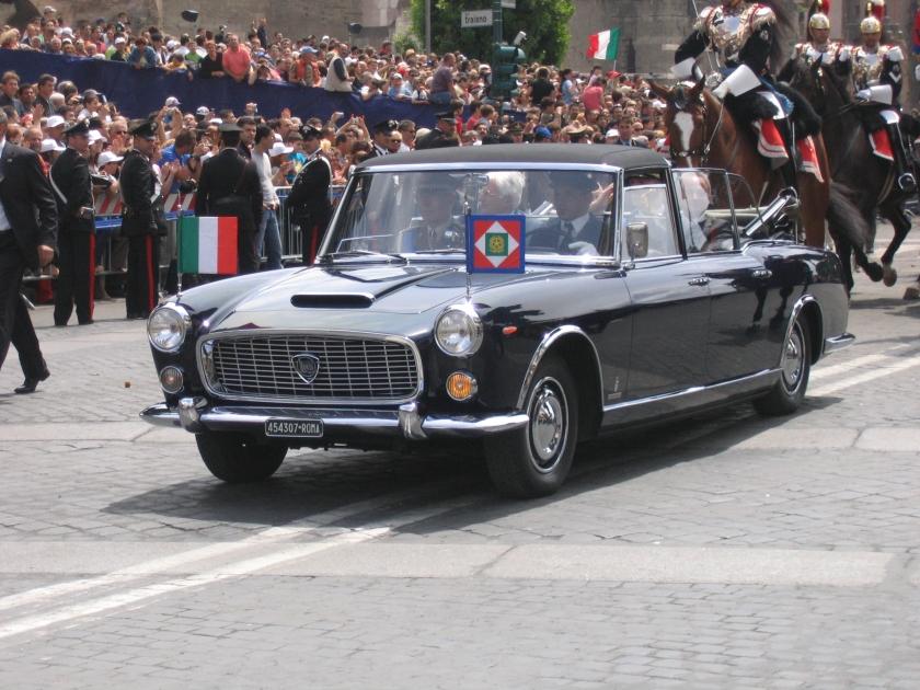 Lancia Gamma Flaminia convertibile del Presidente della Repubblica a