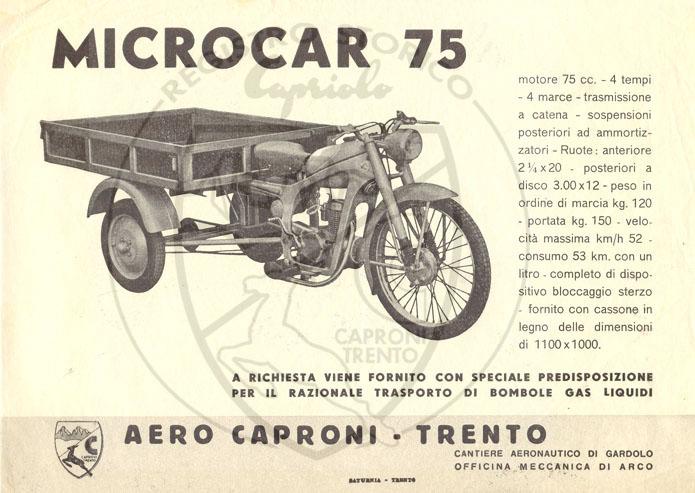 Locandina Microcar ad