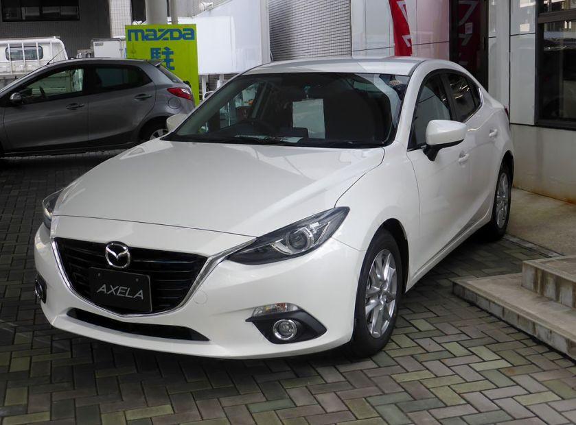 Mazda AXELA Sedan (BM)