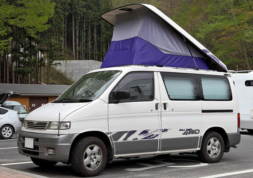 Mazda Bongo Friendee with Auto Free Top.