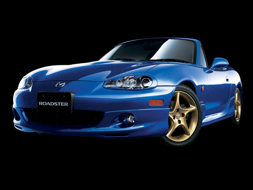 Mazda Miata MX-5 Roadster Blue