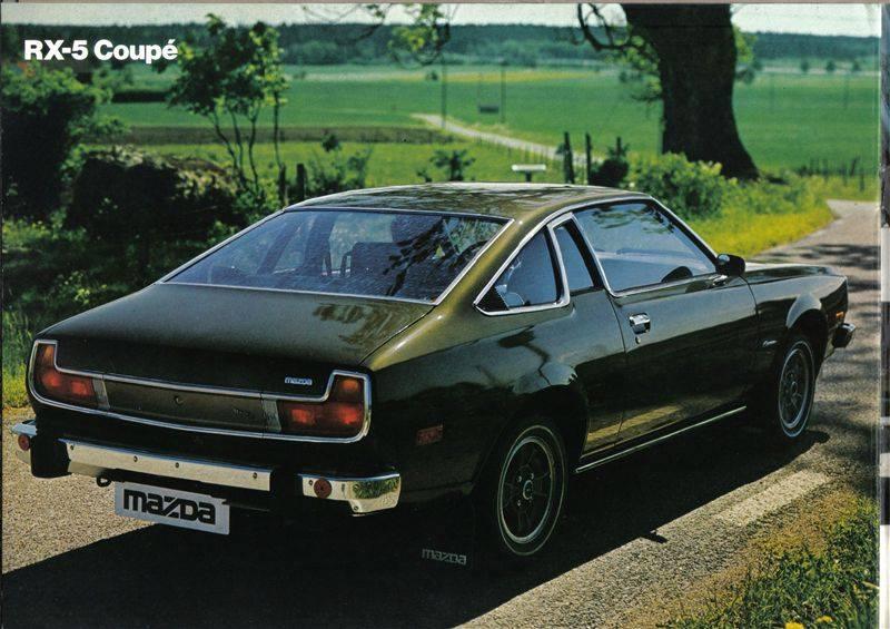 Mazda RX 5 Coupé