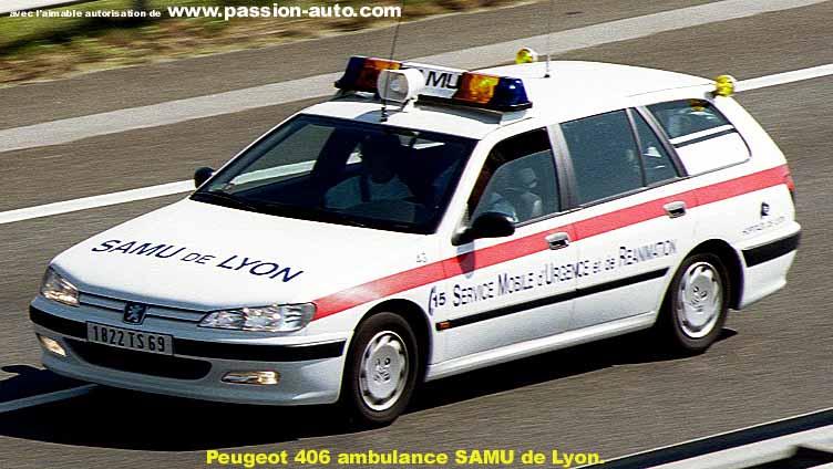 Peugeot 406 Ambulance
