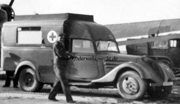 Peugeot DK 5 J Ambulance