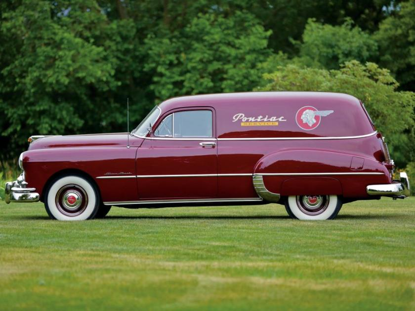 Pontiac Streamliner Silver Streak Six Sedan Delivery