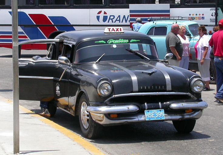 Pontiac taxi in Havana, Cuba