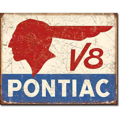pontiac-v8-logo-distressed-retro-vintage-tin-sign