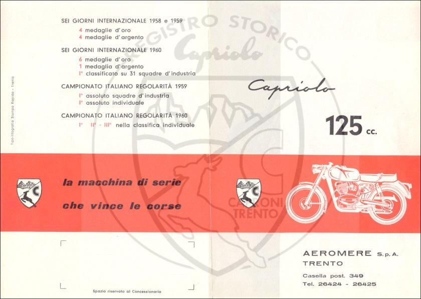 Pubblicità Aeromere125