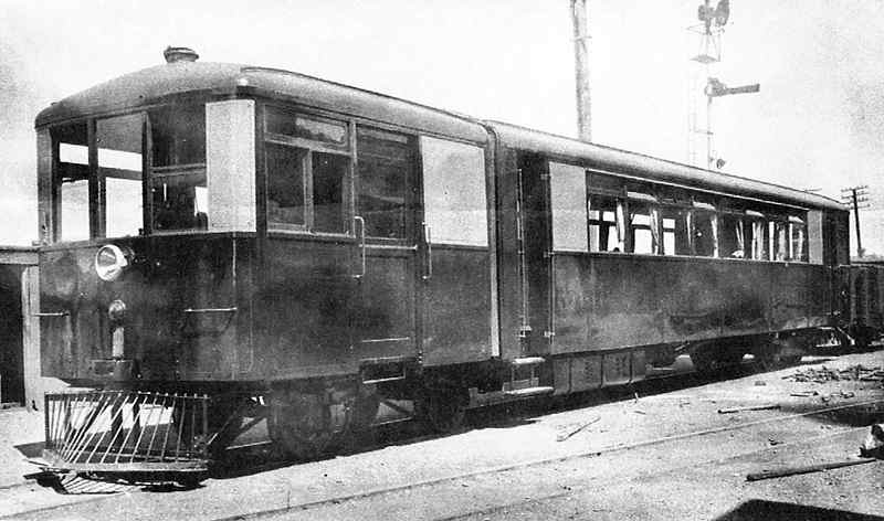 Sentinal Cammell Steam Rail Car
