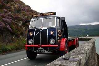Sentinel DV 6-6 Flatbed lorry