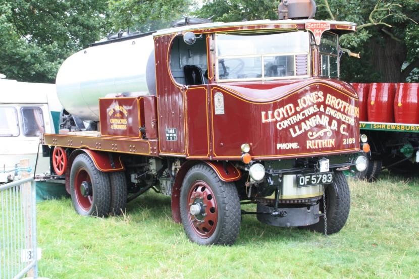 Sentinel no. 8122 Tar wagon - OF 5783 at Onslow Park 09