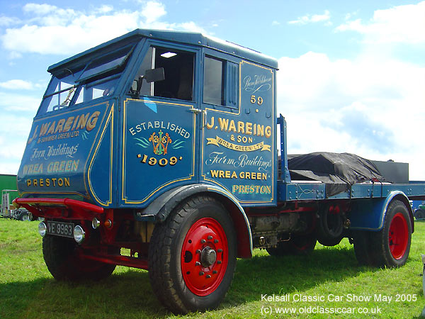 Sentinel Steam truck picture