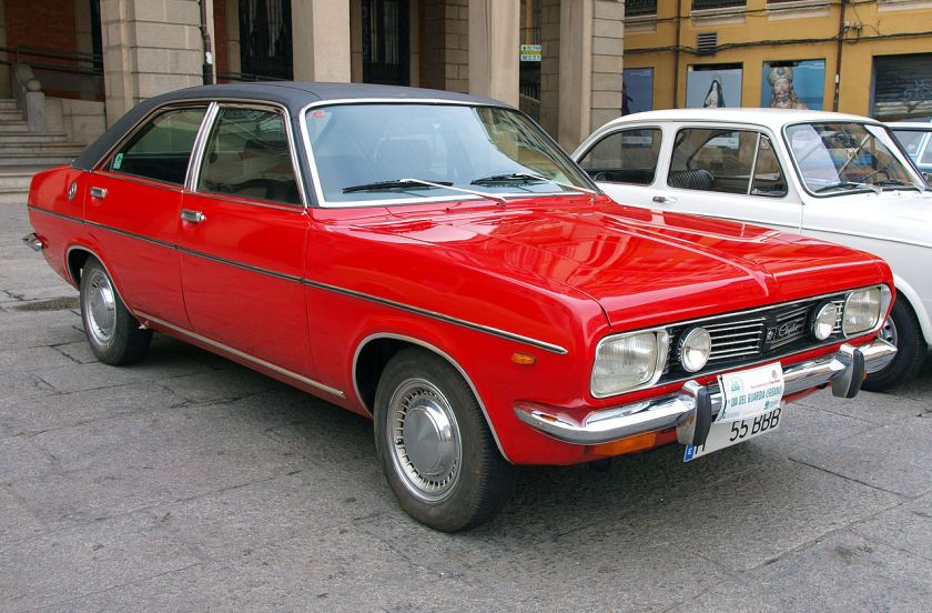 Spanish-built Chrysler 180
