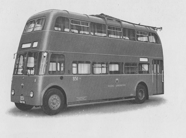 Sunbeam Double-Decker Trolleybus Guy Motors