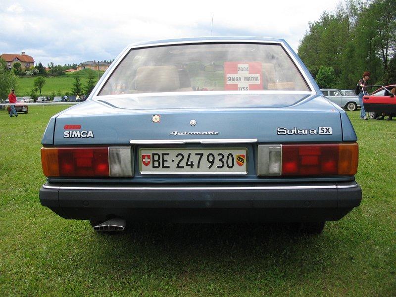 Talbot Simca Solara SX Automatic
