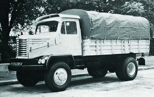 Trucks Unic ZU-47, 4x4, 1958