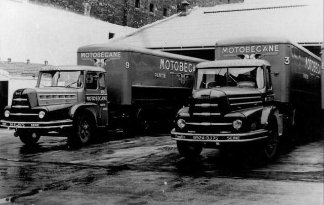 Trucks Unic ZU Motobecane