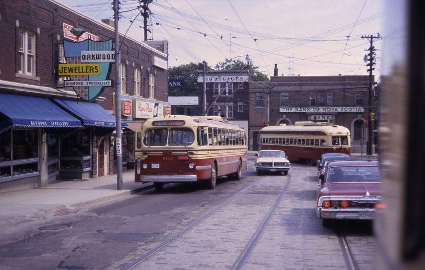 TTC_9142_4442_Oakwood_&_St._Clair_Toronto_1968