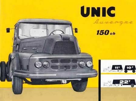 Unic Truck ad