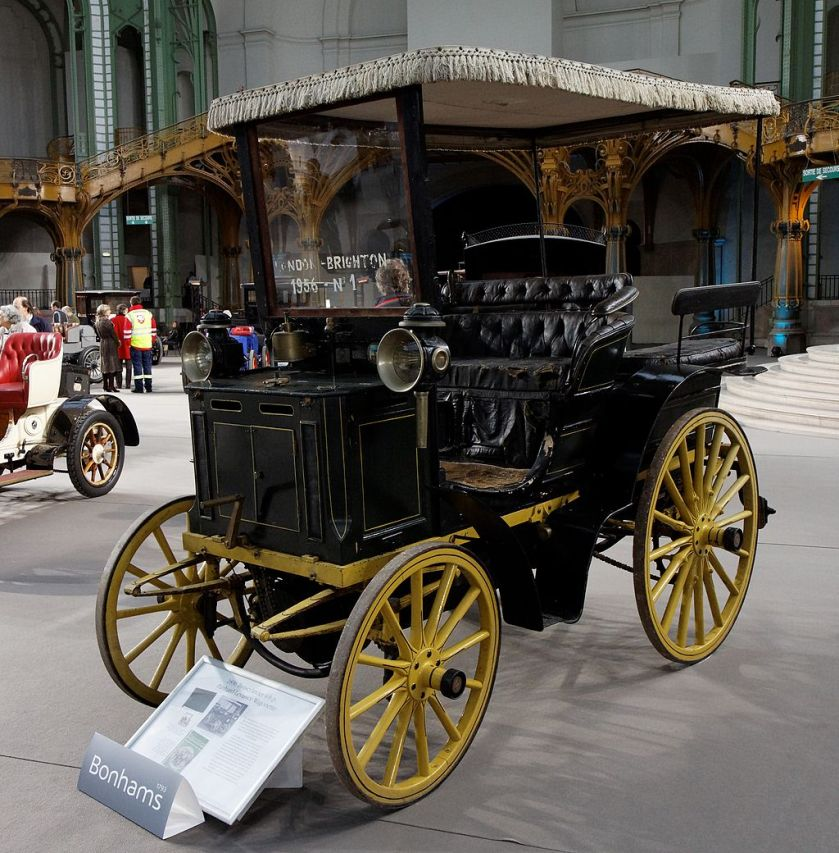 1896 Panhard et Levassor 4 CV with Wagonette body